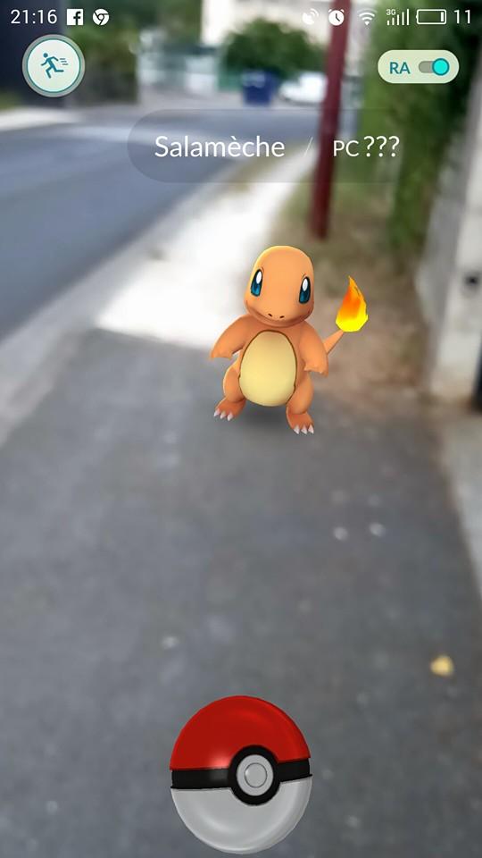 J'ai testé pour vous : la chasse d'un Pokémon devant chez moi.
