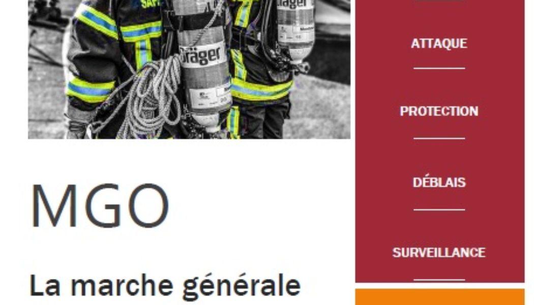 Fiche Marche générale des opérations – MGO incendie –