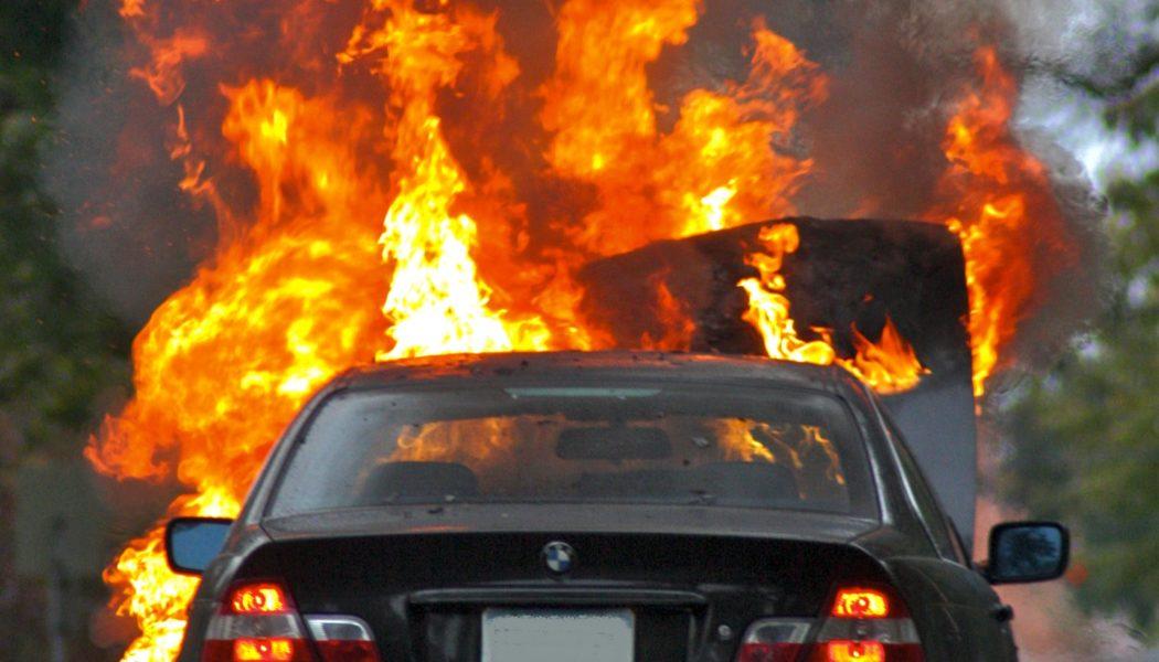 Feu de véhicule : les risques liés aux pneumatiques