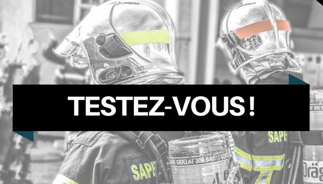 Acronymes pompiers – Testez-vous !