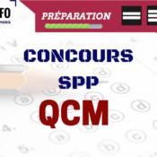QCM entraînement concours SPP