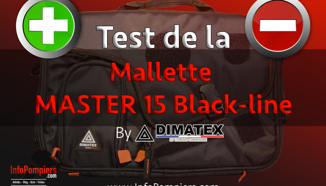 TEST – MASTER 15 Black-line – By Dimatex Sécurité