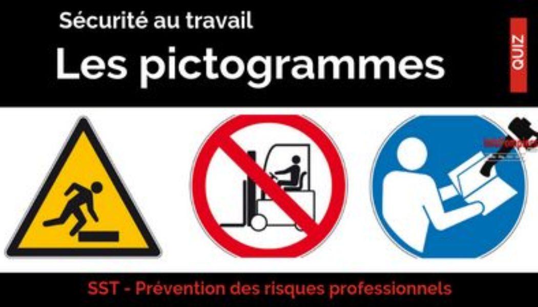 QCM Prévention des risques professionnels – Les pictogrammes